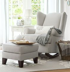 Rocker for a neutral nursery design | Design and decor for kids | Ideas, tips and inspiration