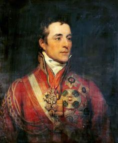 Филлипс (Thomas Phillips) Томас (1770-1845).Портрет герцога Веллингтона.