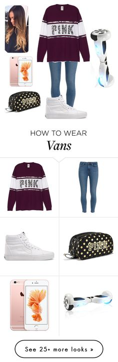 """""""Riding a hover board!!!"""" by sydneefashion on Polyvore featuring Paige Denim and Vans"""