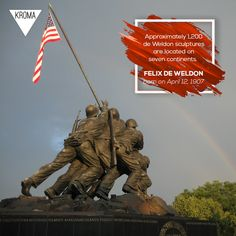 - Born Today: Felix Weihs de Weldon was an Austrian-born American sculptor.