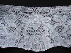 old Flanders bobbin lace, c. mid 1700s
