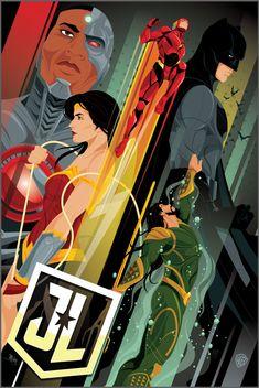 Poster IMAX de La Liga de la Justicia