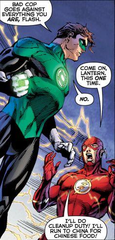 Hal Jordan Barry Allen