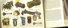 Weaponry #3 - Fallout 3 Concept Art
