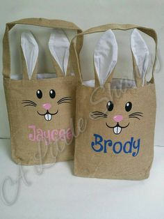 Check out this item in my Etsy shop https://www.etsy.com/ca/listing/506878265/personalized-easter-bagtote-great-for