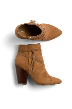 Stitch Fix Fall Styles: Suede Booties