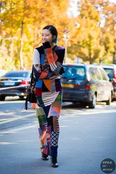 Irene Kim Street Style Street Fashion Streetsnaps by STYLEDUMONDE Street Style Fashion Photography