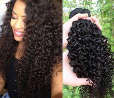 kinky beach hair | Chaude reine 3 pcs/ensemble. 5a péruvienne vierges crépus cheveux ...