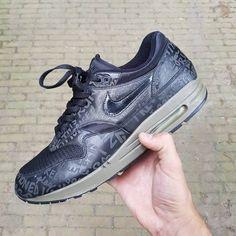Nike Air Max 1 Powerwall Black Olive