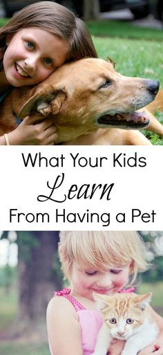 I love animals (as we all know) & think they are an integral part of growing up & this guest post by Emma explains what your kids learn from having a pet? Family Dogs, Family Life, Kids And Parenting, Parenting Hacks, Parenting Plan, Teaching Kids, Kids Learning, Family Over Everything, Stay At Home Dad