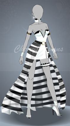 Fashion Design Sketches 821344050773999976 - (closed) Auction Adopt – Outfit 504 by CherrysDesigns Source by ptitdream Anime Outfits, Girl Outfits, Fashion Outfits, Fashion Design Drawings, Fashion Sketches, Drawing Fashion, Anime Dress, Dress Sketches, Dress Drawing