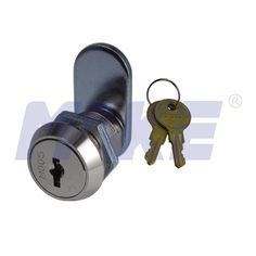 This cam lock MK104-41 is a kind of economical flat key cam lock, spring loaded disc tumbler locking system. This cam lock can be made of many different materials and come in many different sizes and finishes, which offers security solutions to lock cabinet, locker, mailbox/postbox, machine & equipment and more.#cam #lock #camlock #wafercamlock