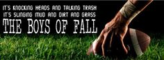 the boys of fall quotes - Bing Images Fall Football, Football Tailgate, Youth Football, Football Crafts, School Football, Football Food, Tailgating, Fall Facebook Cover, Facebook Cover Images
