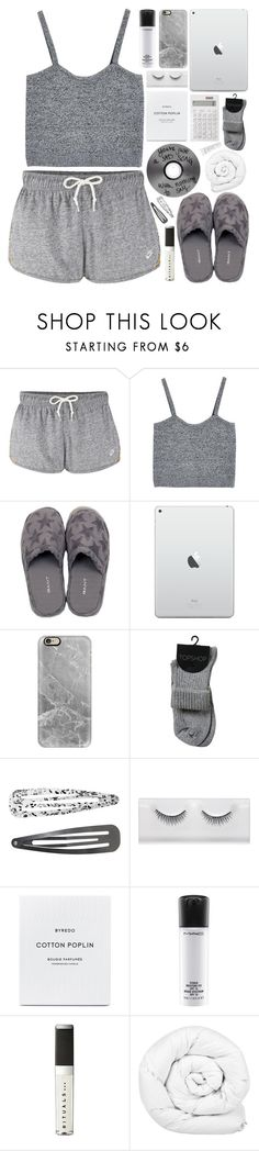 """""""Days of Cotton"""" by ladyvalkyrie ❤ liked on Polyvore featuring NIKE, GANT, Casetify, Monki, MAC Cosmetics, Rituals, Brinkhaus and Natio"""