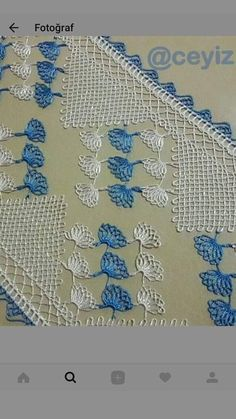 Needle Lace, Lace Making, Bargello, Diy And Crafts, Embroidery, Crochet, How To Make, Home Decor, Cute Crochet