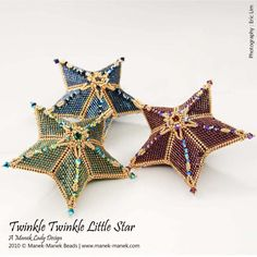 eTUTORIAL Twinkle Twinkle Little Star by maneklady on Etsy