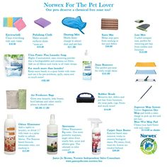 Jamie Jo Brown, Norwex Independent Sales Consultant shares the best products for the pet lovers!
