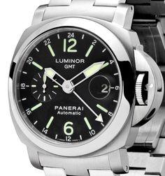Panerai Luminor GMT 44 mm : les petites secondes apparaissent désormais sur fond noir…
