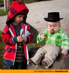 El mejor disfraz de Breaking Bad.