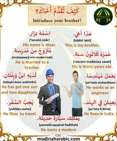 Spoken Arabic, Good Vocabulary Words, Arabic Lessons, English Language Learning, Arabic Language, Learning Arabic, Learn English, Get One, Languages