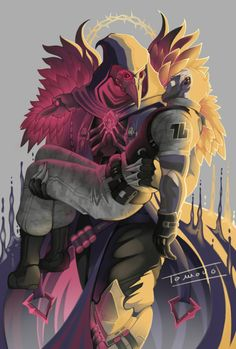 Overwatch Reaper and Soldier 76