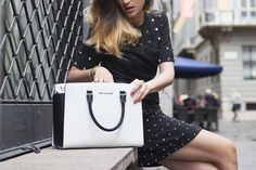 eleonora carisi with selma bag by michael kore