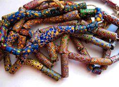 african beads | African Trade Bead/Millifiori