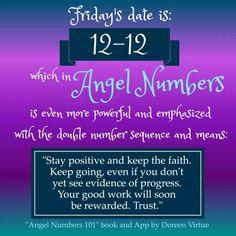 12-12. Angel numbers