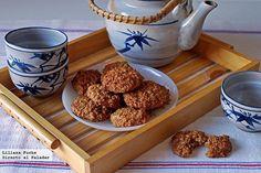 Galletas tiernas de puré de manzana y avena. Receta - Directo Al Paladar