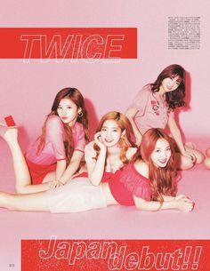 Sana, Dahyun, Nayeon, Momo