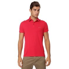 Brooksfield Commet Polo - Red. Sale $24.99