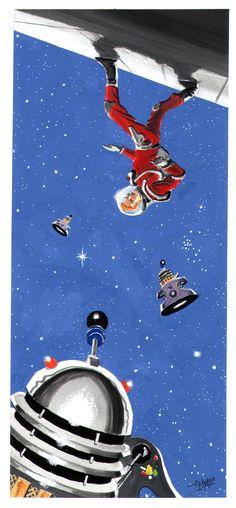 """""""Dalek War 2"""" (2013) by Tim Keable."""