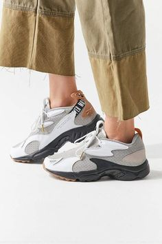 Find all your women's sneaker needs at Urban Outfitters. From slip on sneakers to chunky sneakers featuring brands like Nike, Fila, adidas, Reebok & Vans. Sneakers For Sale, Slip On Sneakers, Shoes Sneakers, Sneaker Stores, Best Running Shoes, W 6, Sneaker Boots, Fashion Shoes, Fashion Bags