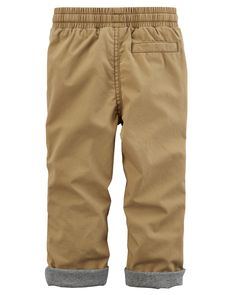 Jersey-Lined Utility PantsJersey-Lined Utility Pants, Color