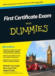 First certificate exam para Dummies / Raquel Tonda, Michelle Courtright, Mary Jane Pratt