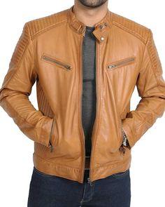 Men/'s Vintage Cafe Racer Retro 2 Motorcycle Distressed Biker Leather Jacket PriceRight Cafe Racer Jacket Biker Jacket