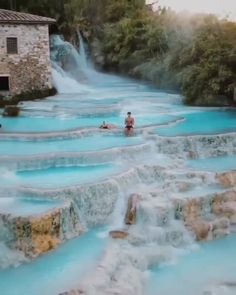 Travel Discover Life Changing Hot Springs in Italy! Vacation Places, Vacation Destinations, Dream Vacations, Vacation Spots, Best Holiday Destinations, Bahamas Vacation, Italy Vacation, Beautiful Places To Travel, Cool Places To Visit