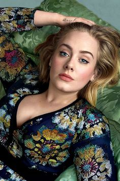Adele photographed by Annie Leibovitz for Vogue February 2016.