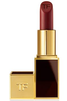 Lip Color Matte in Velvet Cherry, $53, Tom Ford This Is the Most Popular Bridal Lipstick Shade on Pinterest  - HarpersBAZAAR.com