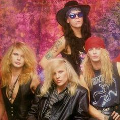Poison band - gotta <3 that hair!  Bret Michaels was the lead singer and still performing today.