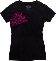 FXR Racing - Snowmobile Gear - Women's FTA T-Shirt - Black