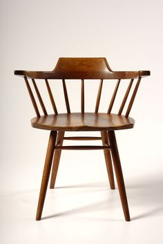 Captain's chair by George Nakashima, circa 1950