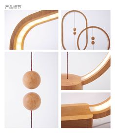 HENG is a serious of lamps breaking the traditional way to turn on lamps. The two balls in the wooden frames serve as switches of the lamps. As we raise the the lower ball, the two balls would be drawn together magnetically. They would float in the air an…