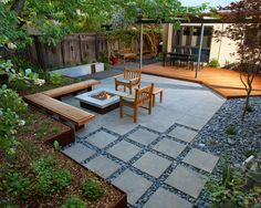 41 Backyard Design Ideas For Small Yards | Paver patio designs ...