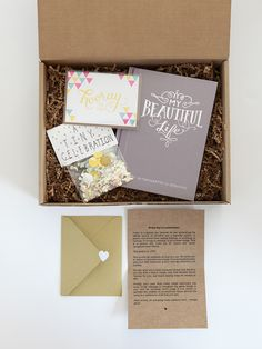 Olive box is a seriously nice gift to last all year!