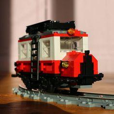 """""""Wismarer Schienenbus #lego #10183 #hobbytrain #schienenbus #wismarerschienenbus"""""""
