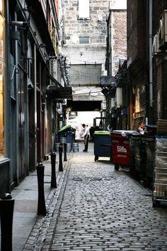 Streets of Glasgow by anniestarshine