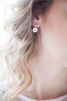 Diamond earrings | Karra Leigh Photography