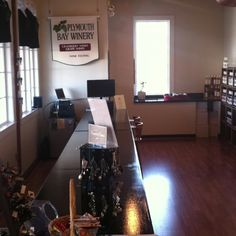 Take 2, view of the new tasting bar of the Plymouth Bay Winery Plymouth, MA