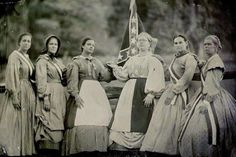 Confederate Women My family fought on the Confederate side but I would of been on the Union side. I just wish there would of never been a side or a reason to fight all people should of been free and now we fight wars in foreign lands fo their freedom
